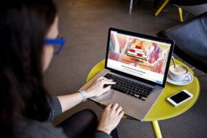 Bauunternehmung Hofmann Webseiten Relaunch Desktop