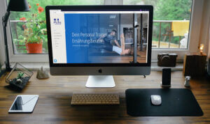 Personaltrainer Bochum Webseiten Relaunch Desktop